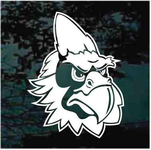 Cardinal's Sports Team Mascot Car Window Decals