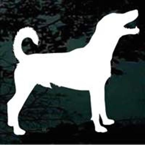 Dog Silhouette 05 Window Decal