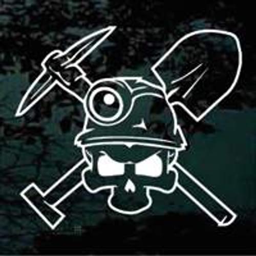 Coal Miner Skull 01