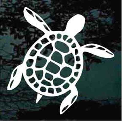 Hawaiian Turtle Cut Out