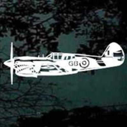 P40 Warhawk Plane Decals