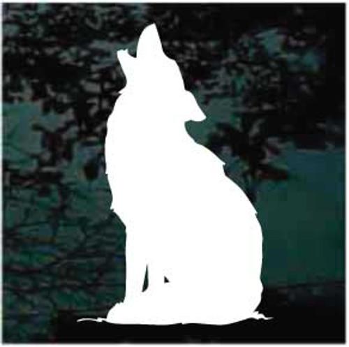Coyote Calling Window Decals