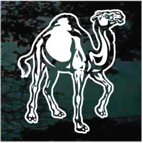 Detailed Camel Window Decals