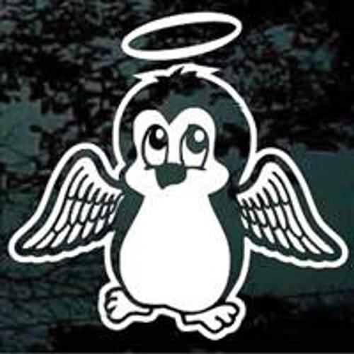 Penguin Angel Decals