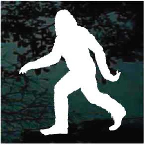 Bigfoot Sasquatch Walking Window Decals