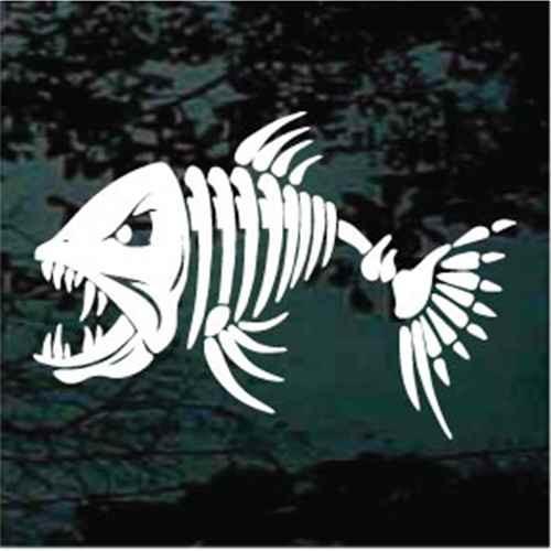 Angry Fish Skeleton