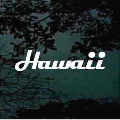 Hawaii Text Letters Custom
