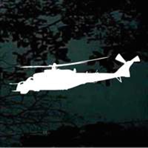 Hovering Helicopter Silhouette Decals