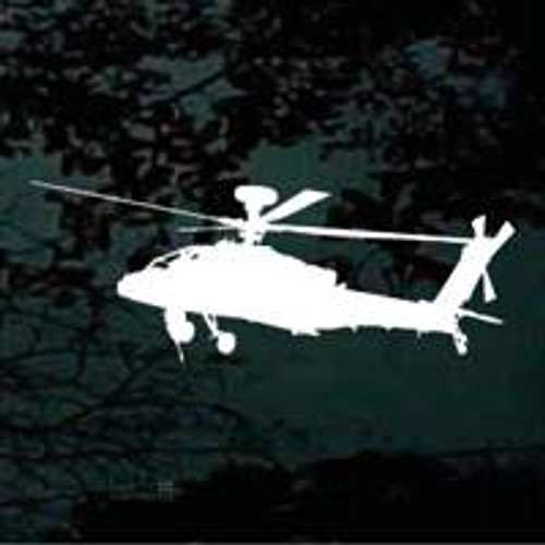 Ascending Helicopter Silhouette