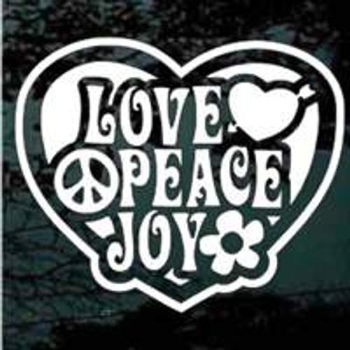 Love Peace Joy Heart
