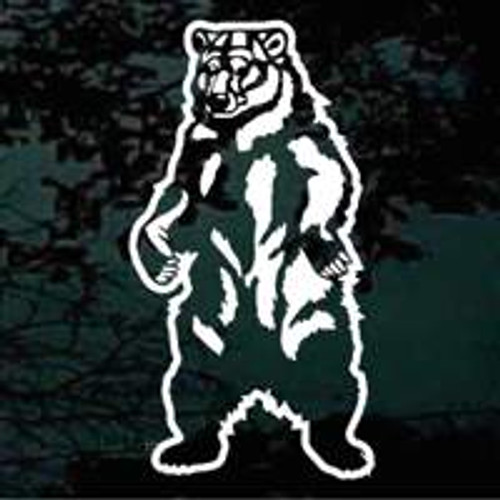 Bear Standing Bear Decals