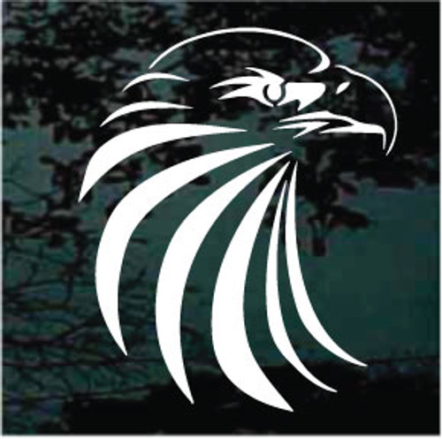 Decorative Eagle Head Window Decals