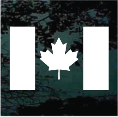 Canada Flag Single Color