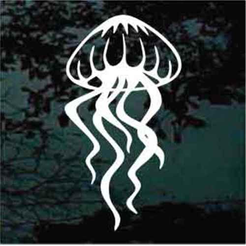 Stylish Jellyfish Window Decals