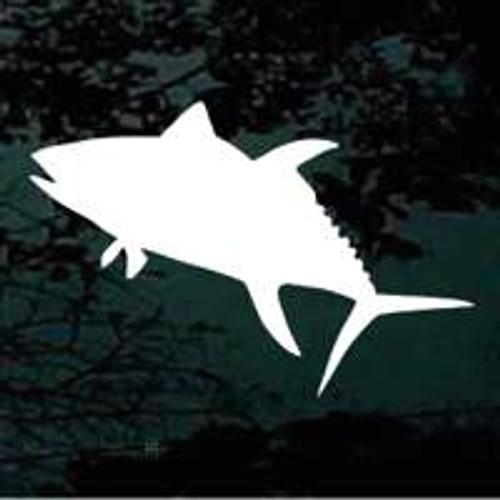 Tuna Fish Silhouette 02