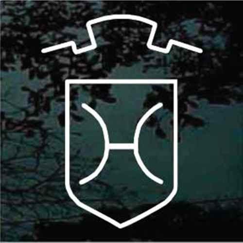 Holsteiner Horse Breed Logo Window Decals
