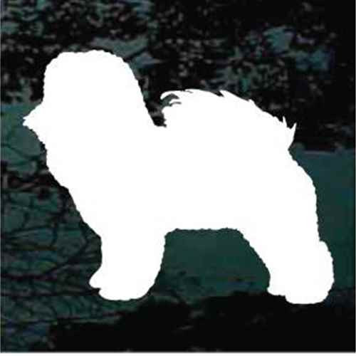 Bichon Frise Silhouette Window Decal