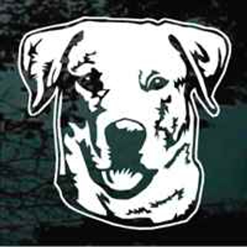Labrador Retriever Head Window Decal