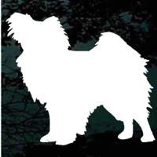 Papillon 01 Silhouette Window Decal