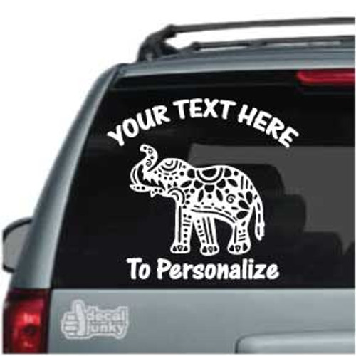 Decorative Elephant Car Decals