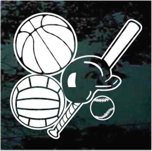 Basketball Softball Volleyball