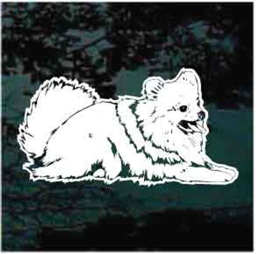 Pomeranian Window Decals 03