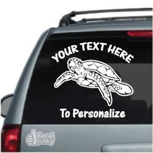 Decorative Sea Turtle Car Window Stickers