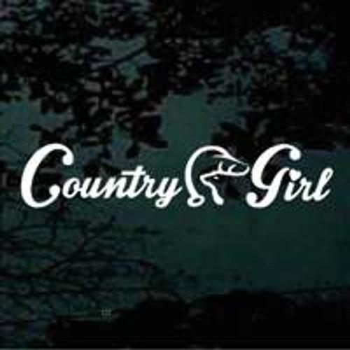 Country Girl Deer Duck Head