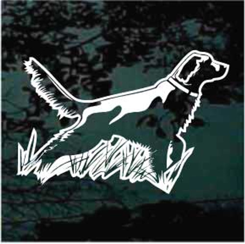 Irish Setter 01 Window Decal