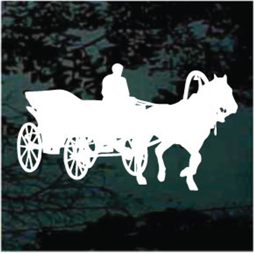 Horse & Carriage Decals