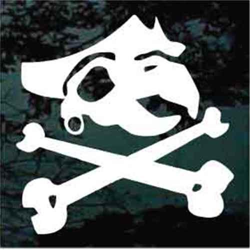 Parrot Pirate Skull