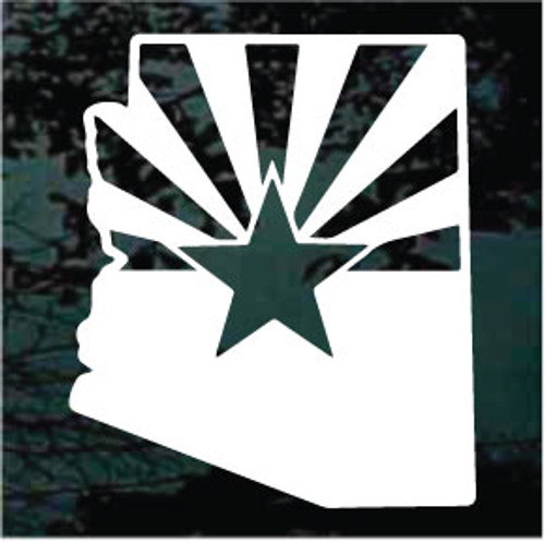 Arizona State Shaped Flag - Single Color