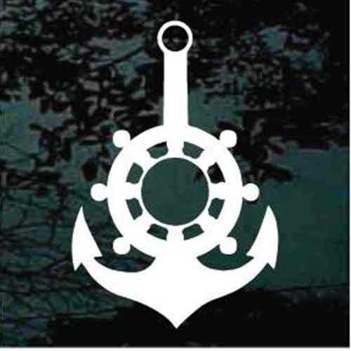Captain's Wheel Boat Anchor
