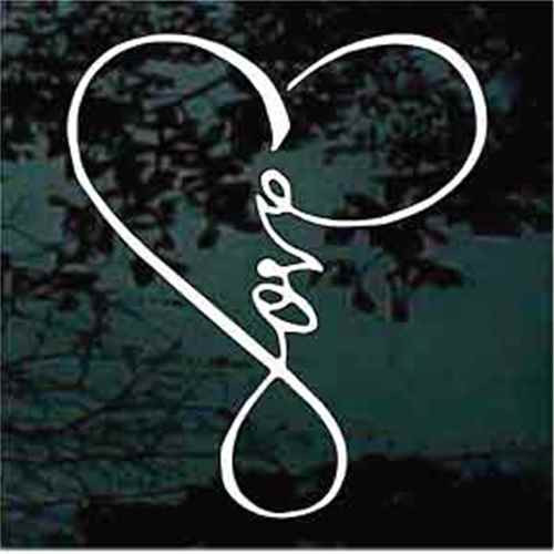 Infinity Love Heart
