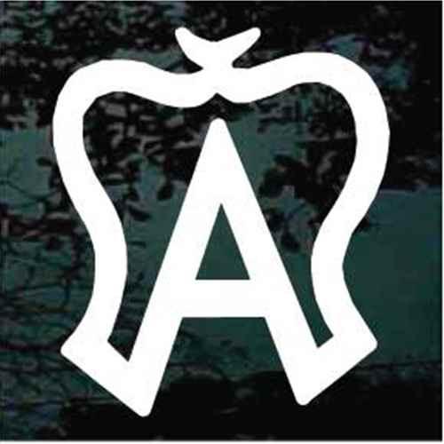 American Warmblood Horse Breed Logo Window Decals