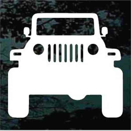Jeep Silhouette Decals