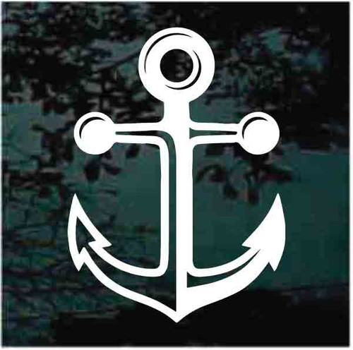 Detailed Boat Anchor Decals
