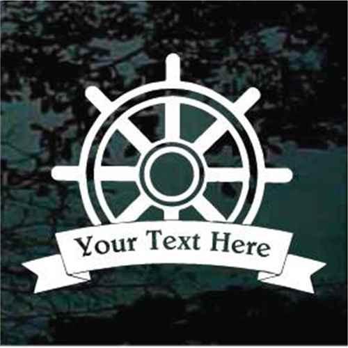 Captain's Wheel Banner