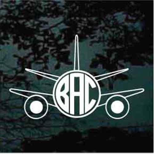 Airplane Monogram