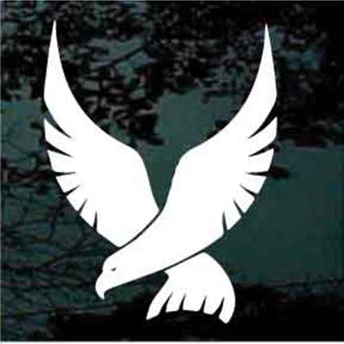 Swooping Falcon Window Decals