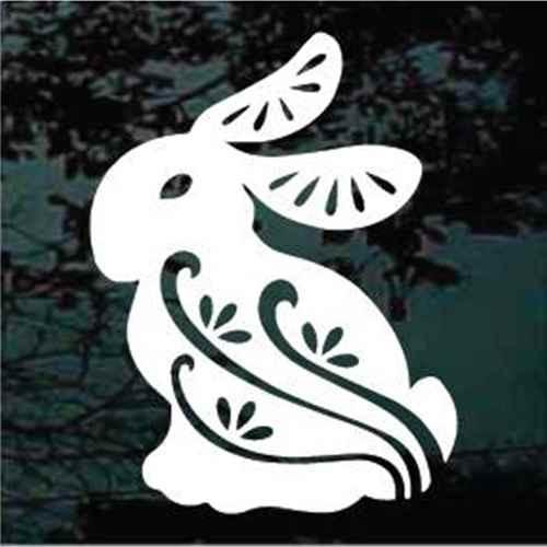Ornamental Rabbit Decals