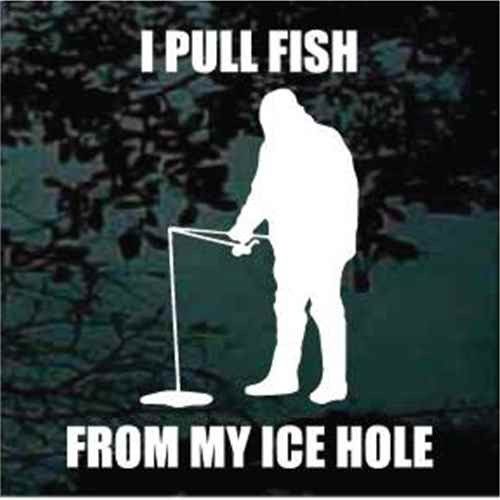 I Pull Fish From My Ice Hole