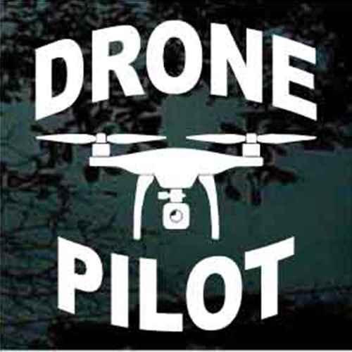 Drone Pilot Decals