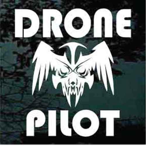 Drone Pilot Skull