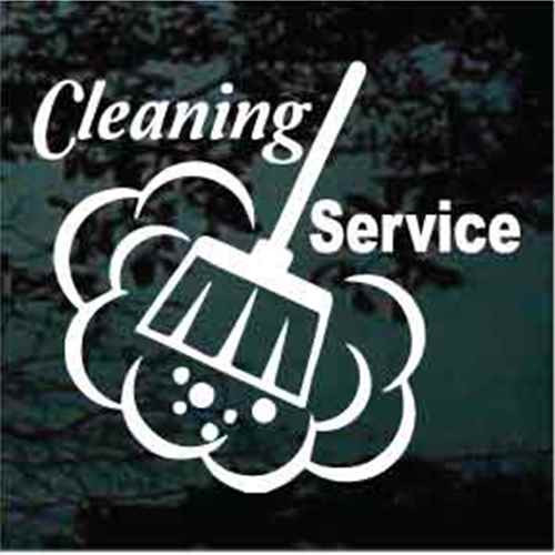 Cleaning Service Broom