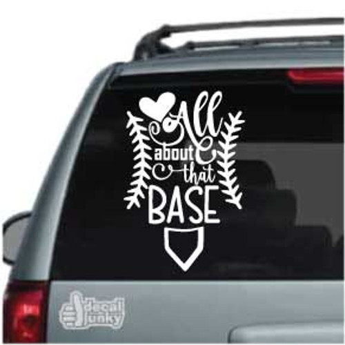 All About That Baseball Car Decals