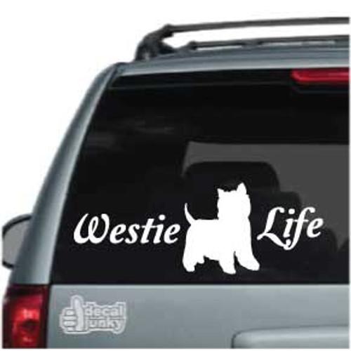 Script Westie Life Car Decals