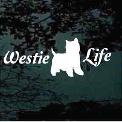 Script Westie Life Decals