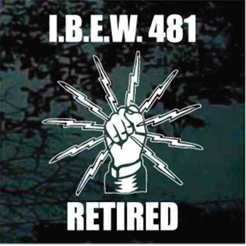 I.B.E.W. 481 Retired