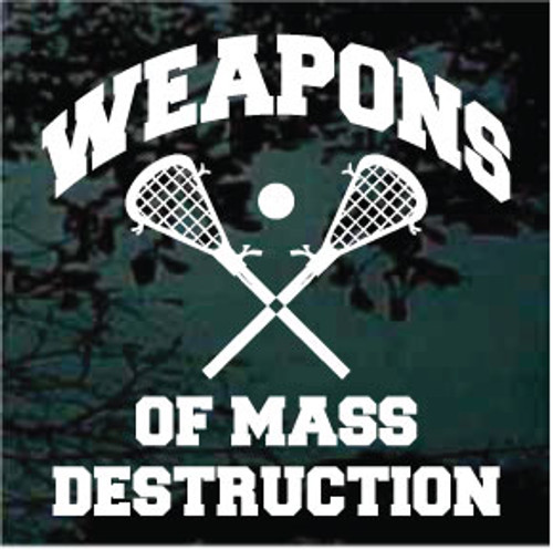 Weapons Of Mass Destruction Lacrosse